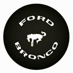 Bronco Aftermarket Replacement Tire Cover 1965-1986