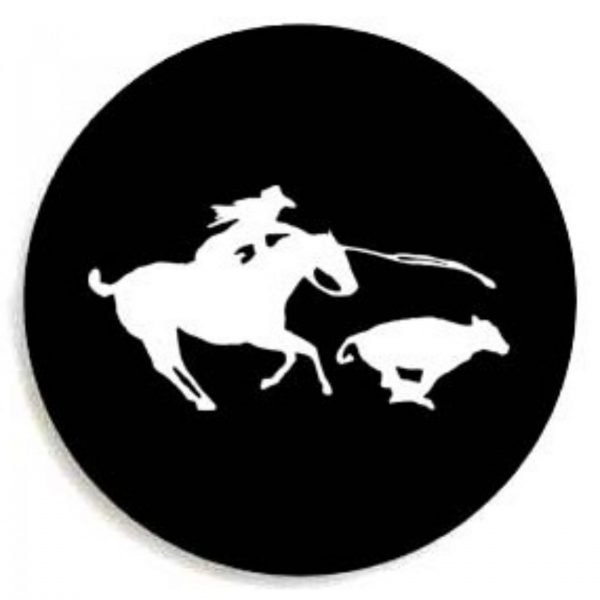 calf roping tire cover