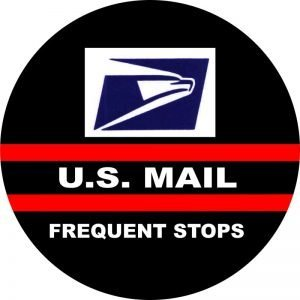 US Mail Tire Cover Image