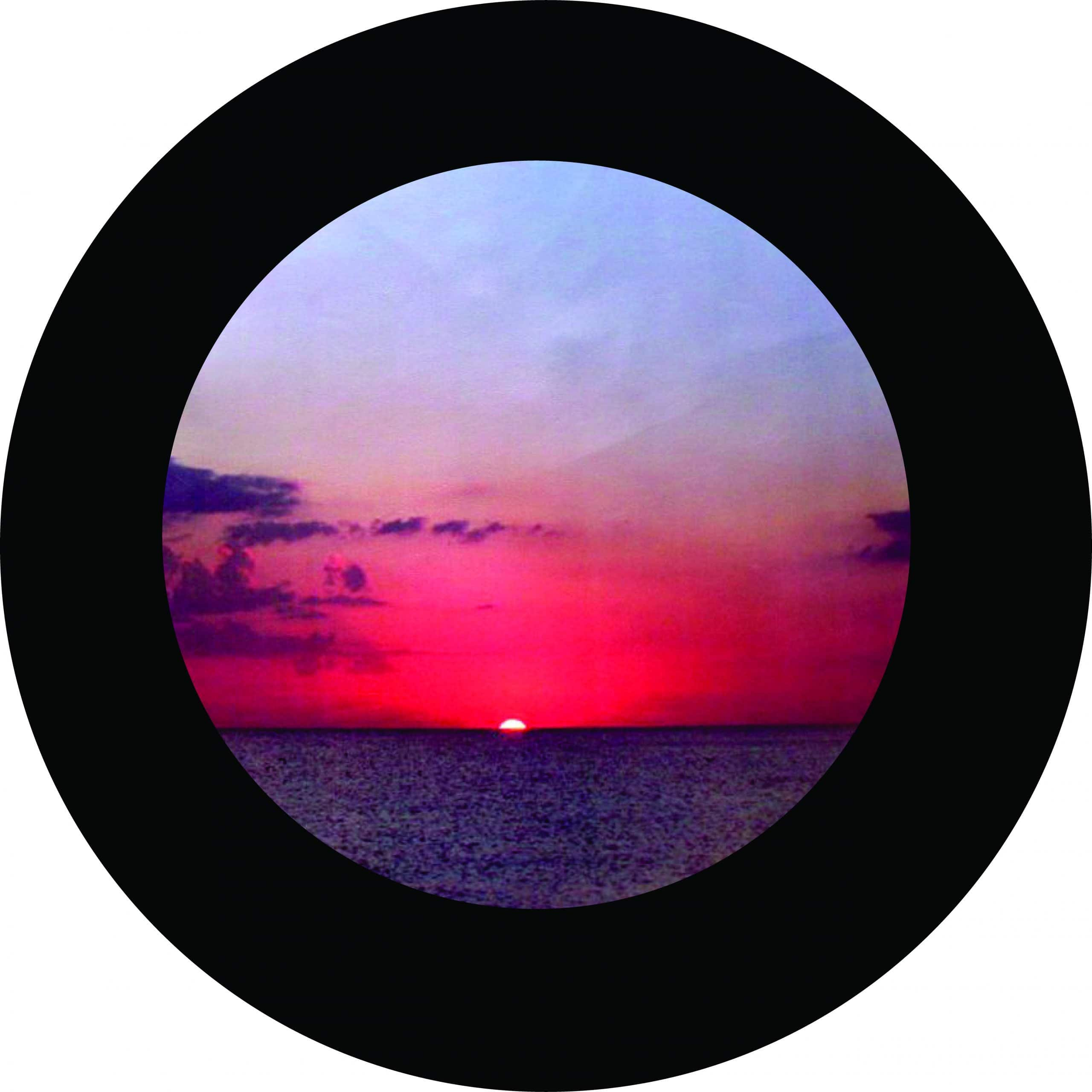 My Sunset Tire Cover