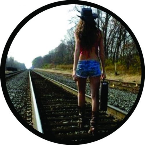 Girl's Gone Tire Cover