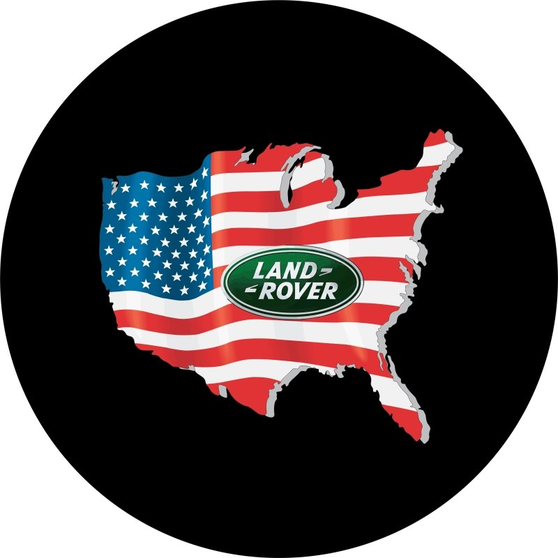 Land Rover USA Tire Cover Image