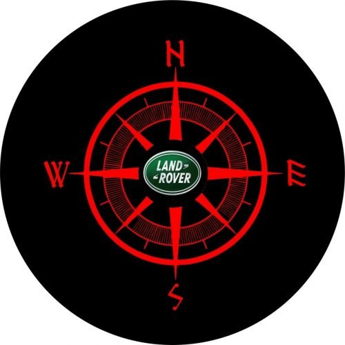 Land Rover Compass Tire Cover Image
