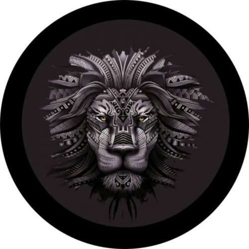Land Rover Lion Tire Cover Image