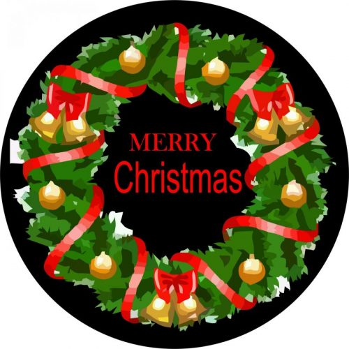Christmas Tire Cover Image