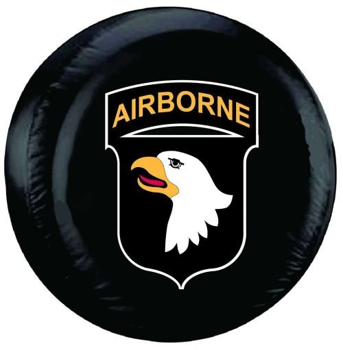 Image of a 101st Airborne Tire Cover