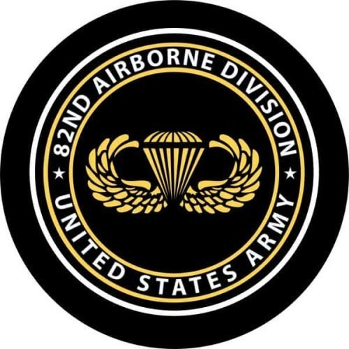Image of a 82 Airborne Spare Tire Cover