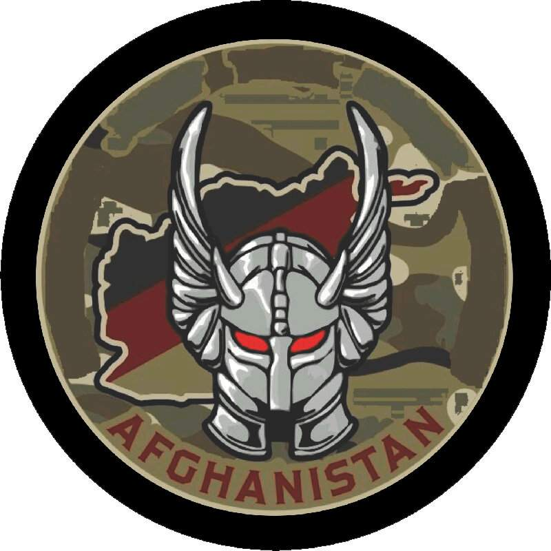 Image of a Army Afghanistan Tire Cover
