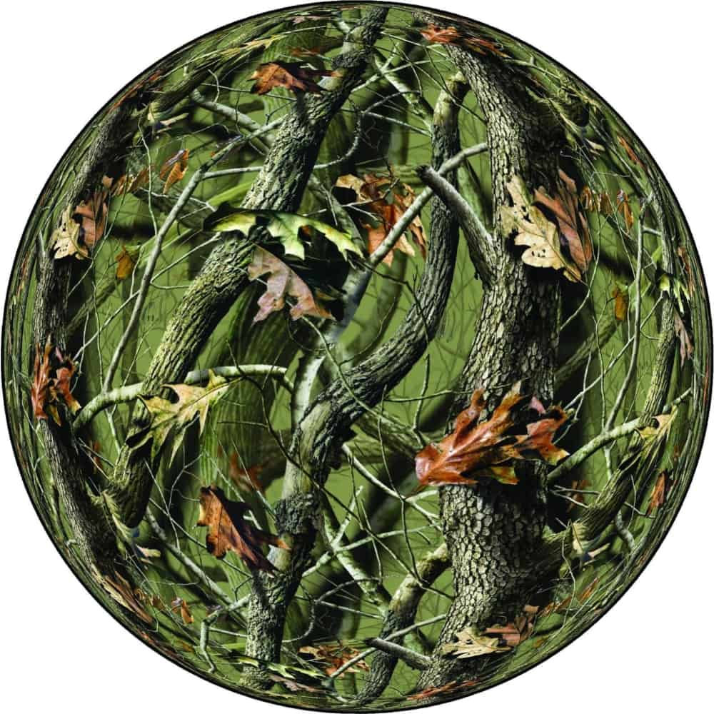 New Camouflage Spare Tire Cover Image