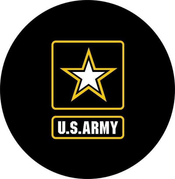 Image of a US Army Spare Tire Cover