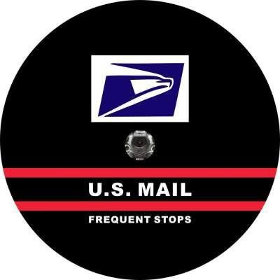 US Mail Back Up Camera Tire Cover