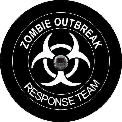Image of a Zombie Outbreak Back Up Camera Tire Cover
