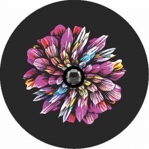 Image of a Amazon Flower Camera Tire Cover
