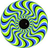 Image of a illusion tire cover
