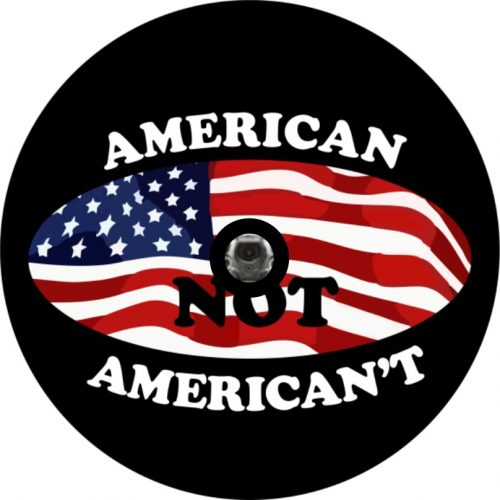 Image of a American't Camera Tire Cover
