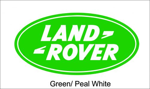 Image of a Land Rover Green Decal